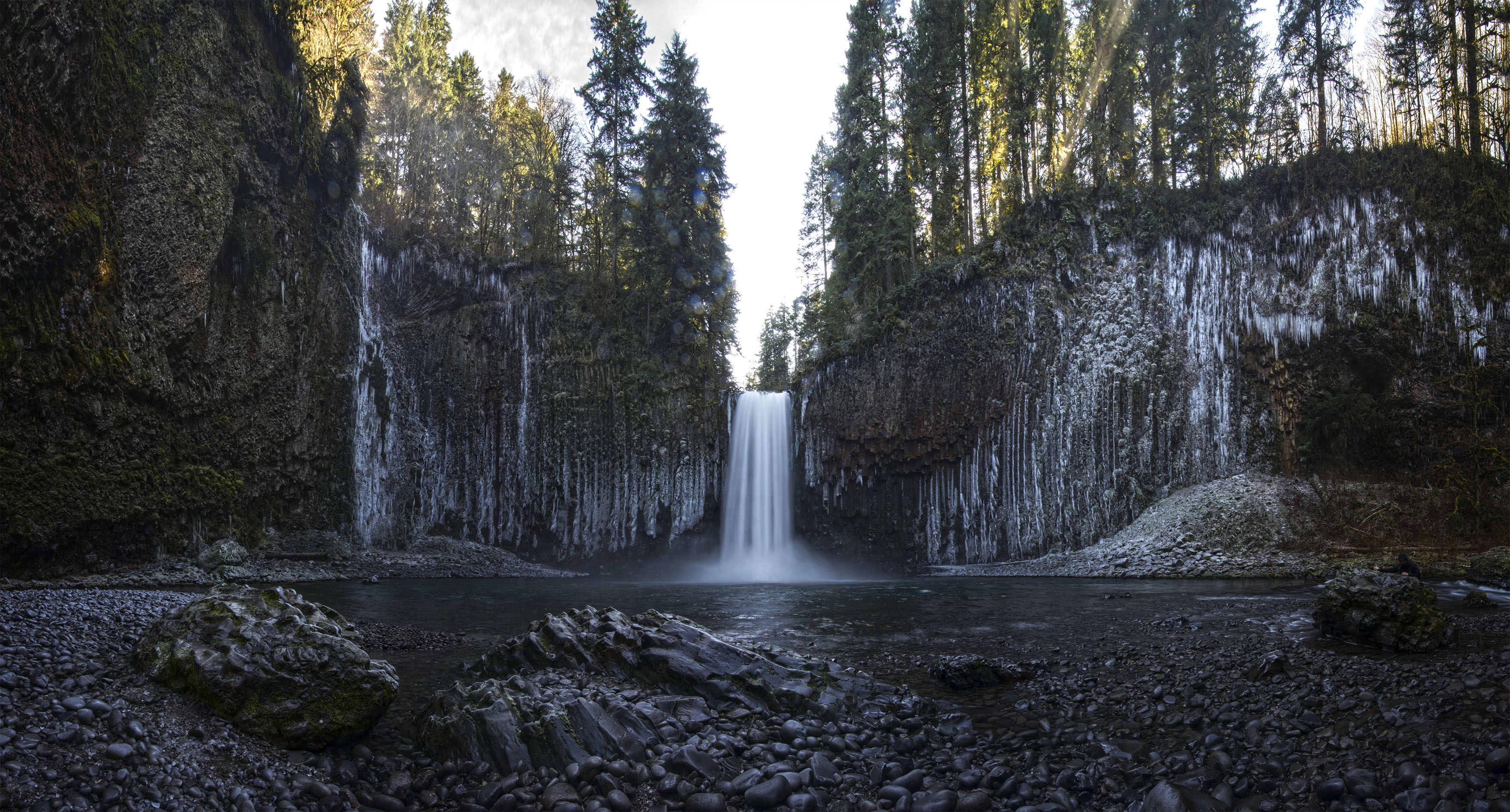 Abiqua Falls: Lessons in ice and water