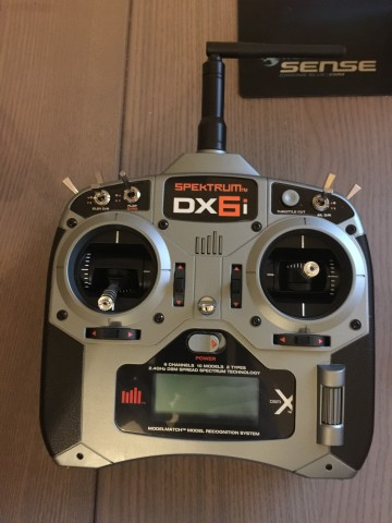 Bind a Spektrum DX6i to a Blade 200 QX Quadcopter