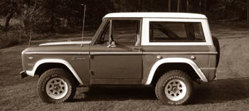 1967 Vord Bronco - and it's all mine!