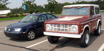 The Bronco and the Jetta