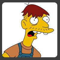 Cletus from the Simpsons