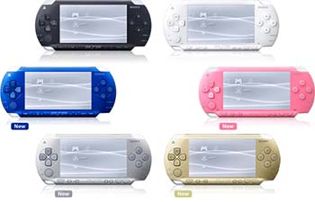 PSP - only in color!