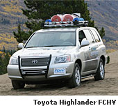 Toyota Highlander FCHV Fuel Cell Powered SUV