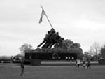Iwo Jima Monument in Washington, DC